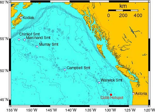 Exploring Alaska s Seamounts Gulf of Alaska Locator Map