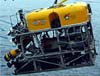 Labeled diagram of the Global Explorer ROV.