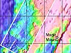 High resolution bathymetry collected on ABE's first two dives.