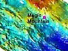 Multibeam bathymetry of Magic Mountain area.