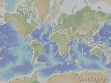 Noaa ocean explorer galapagos where ridge meets hotspot bathymetric map showing a global view of the mid ocean ridge mor gumiabroncs Images