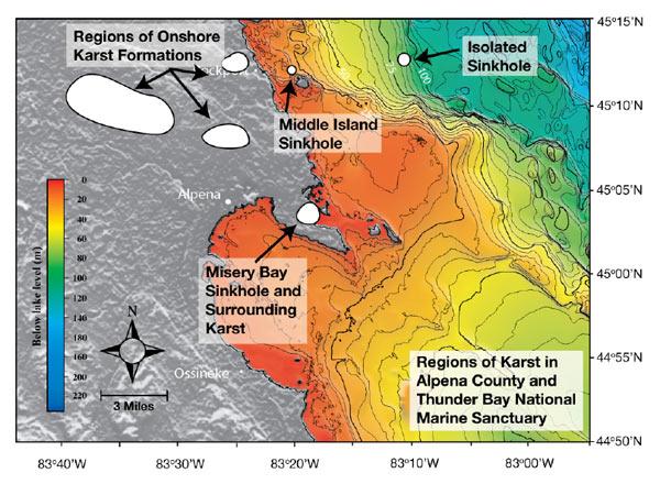NOAA Ocean Explorer Thunder Bay Sinkholes 2008 Mission Plan