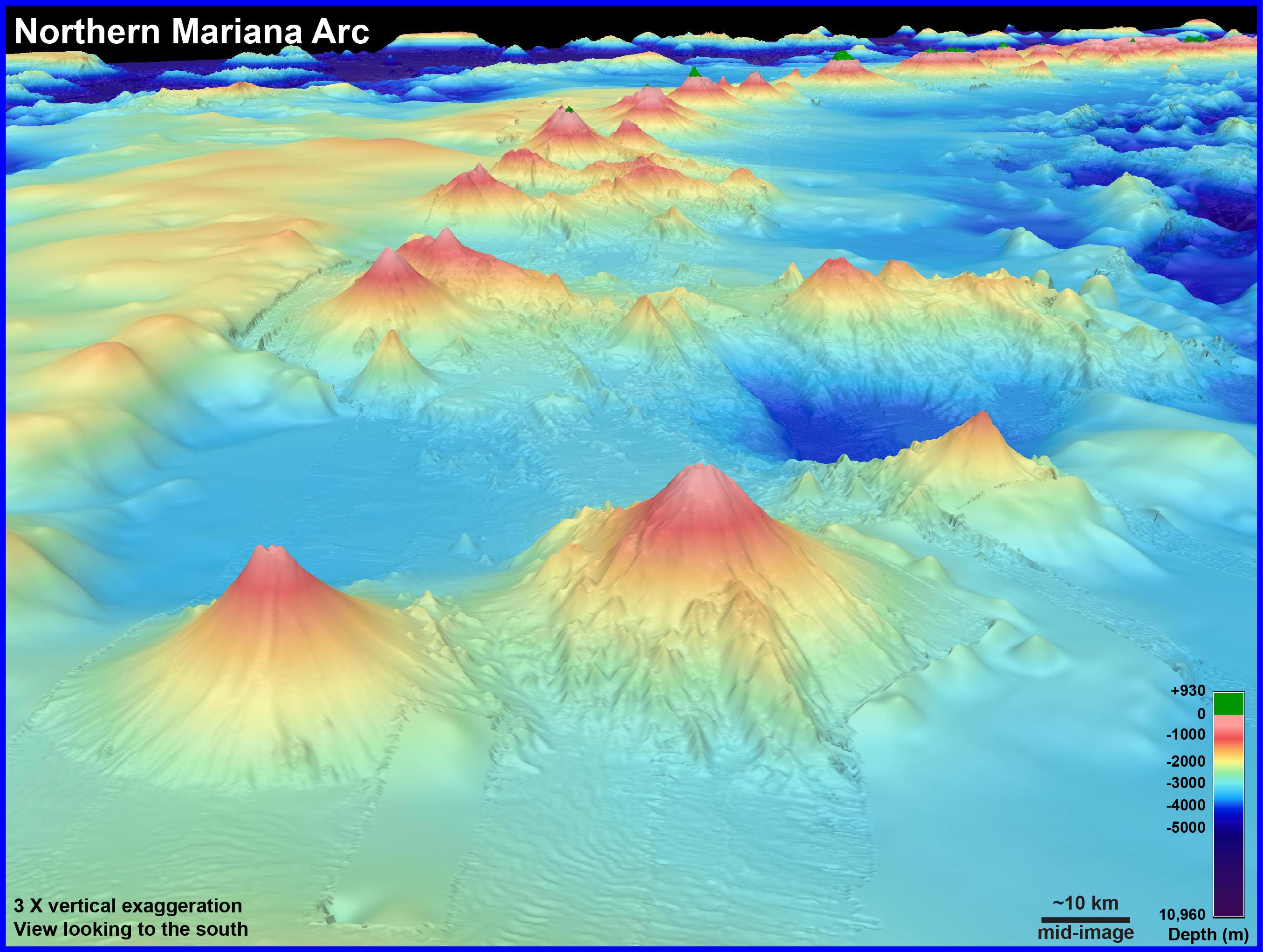 Submarine Ring of Fire 2014 - Ironman: Background ... Pacific Ocean Underwater Volcanoes