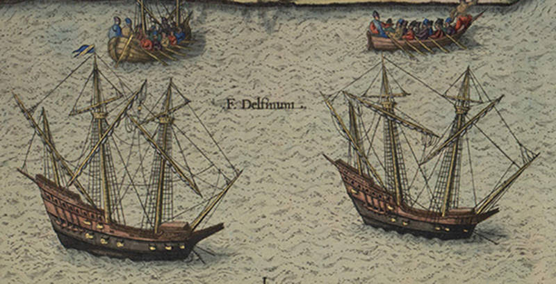 """The big question is if the shipwreck is that of """"La Trinite,"""" the 32-gun flagship of a fleet led by Jean Ribault."""