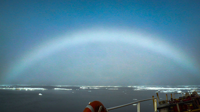 Seeing the Arctic fogbow is a unique experience that adds even more beauty to an already wondrous ecosystem.