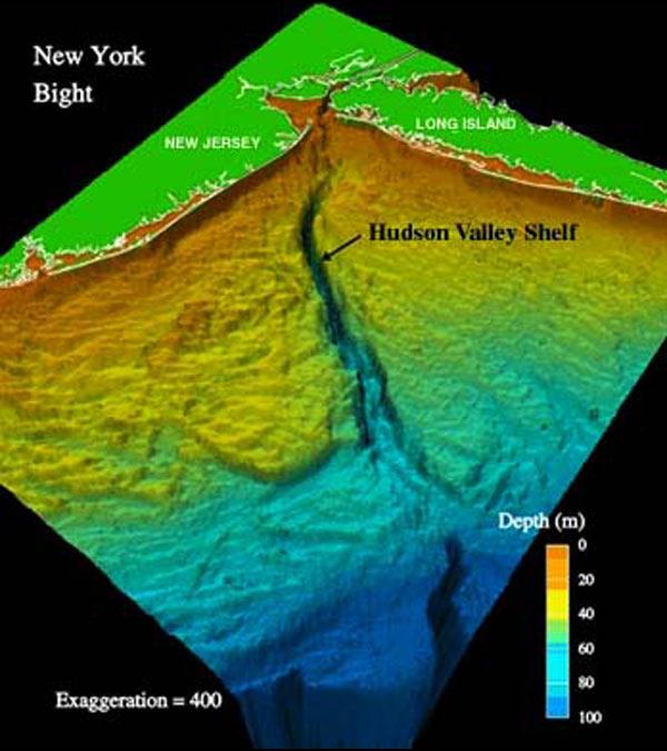 Map Of New York 2001.Noaa Ocean Explorer Deep East 2001 Bathymetric Map Of New York