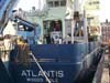 Rear view of R/V Atlantis