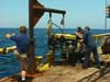 launching remotely operated vehicle