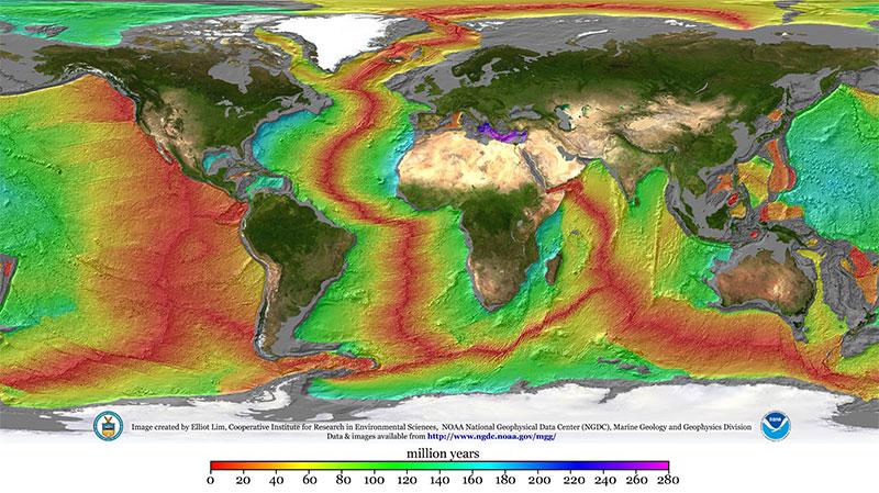 What Is The Mid Ocean Ridge Ocean Exploration Facts Noaa Office