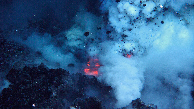 Do volcanic eruptions happen underwater? : Ocean Exploration Facts ...