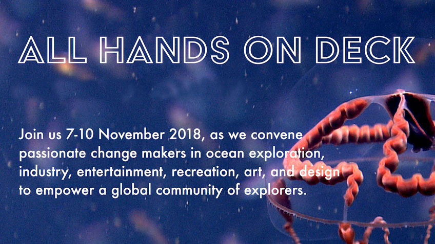 All Hands on Deck: National Ocean Exploration Forum 2018
