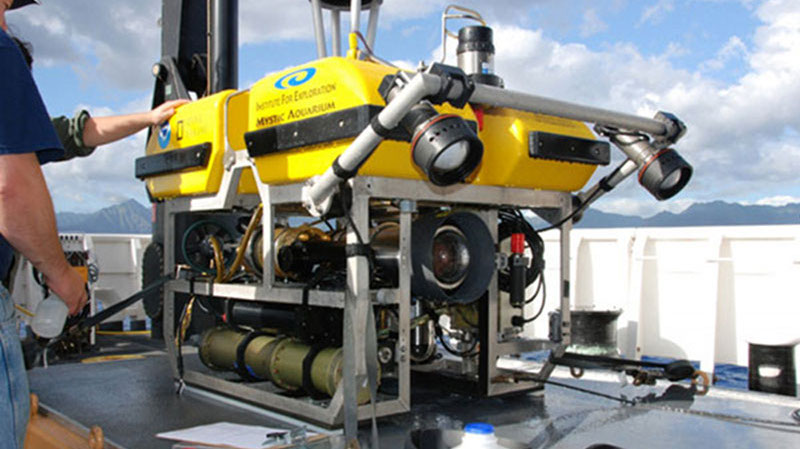 Remotely operated vehicle Little Hercules.