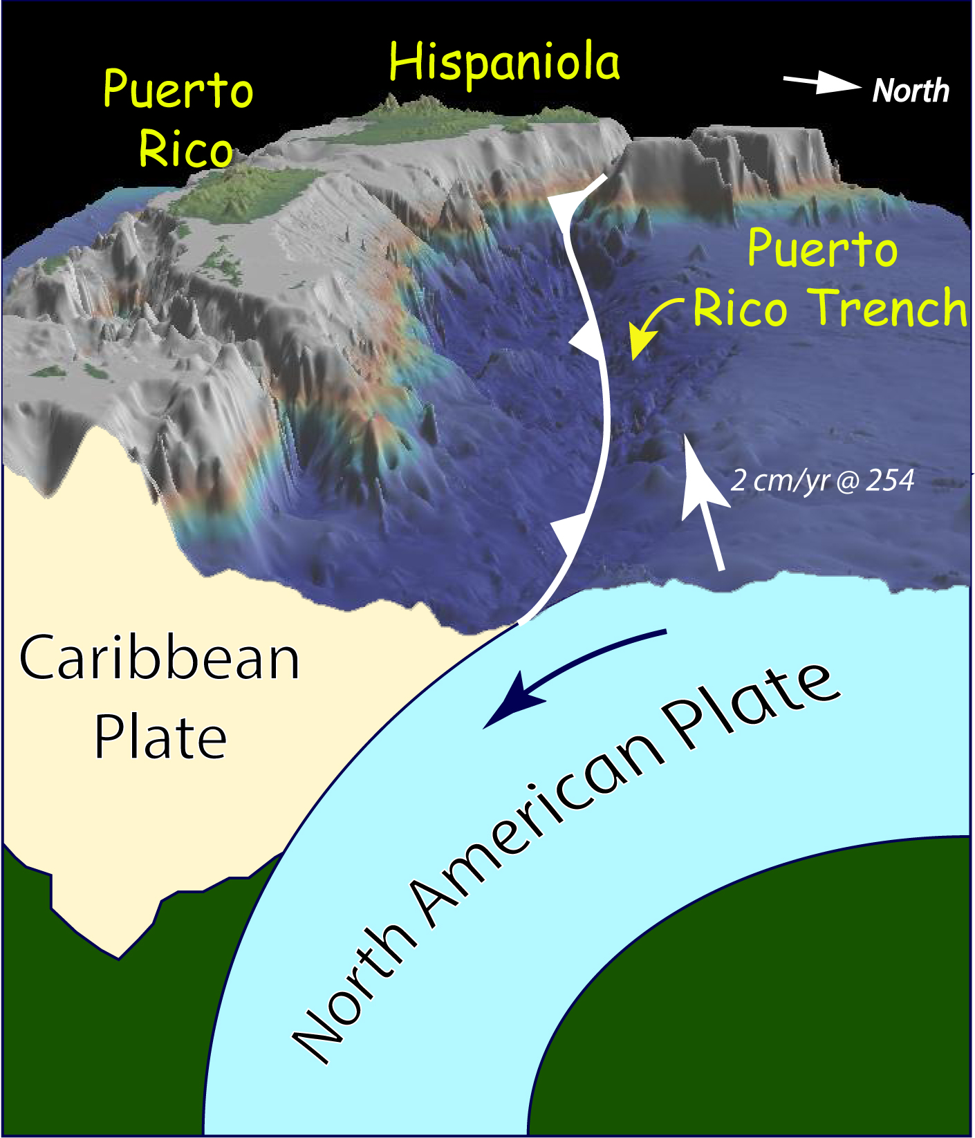 Exploring Puerto Rico S Seamounts Trenches And Troughs Background