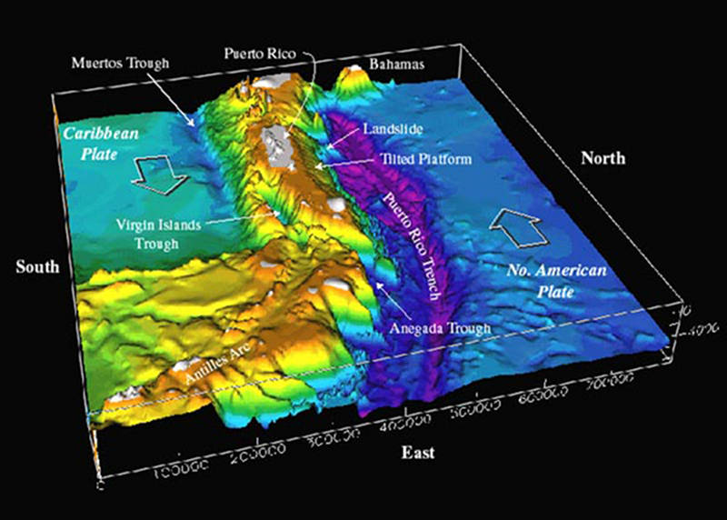 Exploring Puerto Rico\'s Seamounts, Trenches, and Troughs: Media ...