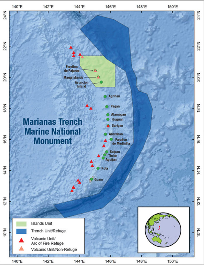 2016 Deepwater Exploration Of The Marianas Background Establishment Of The Marianas Trench Marine National Monument Noaa Office Of Ocean Exploration And Research