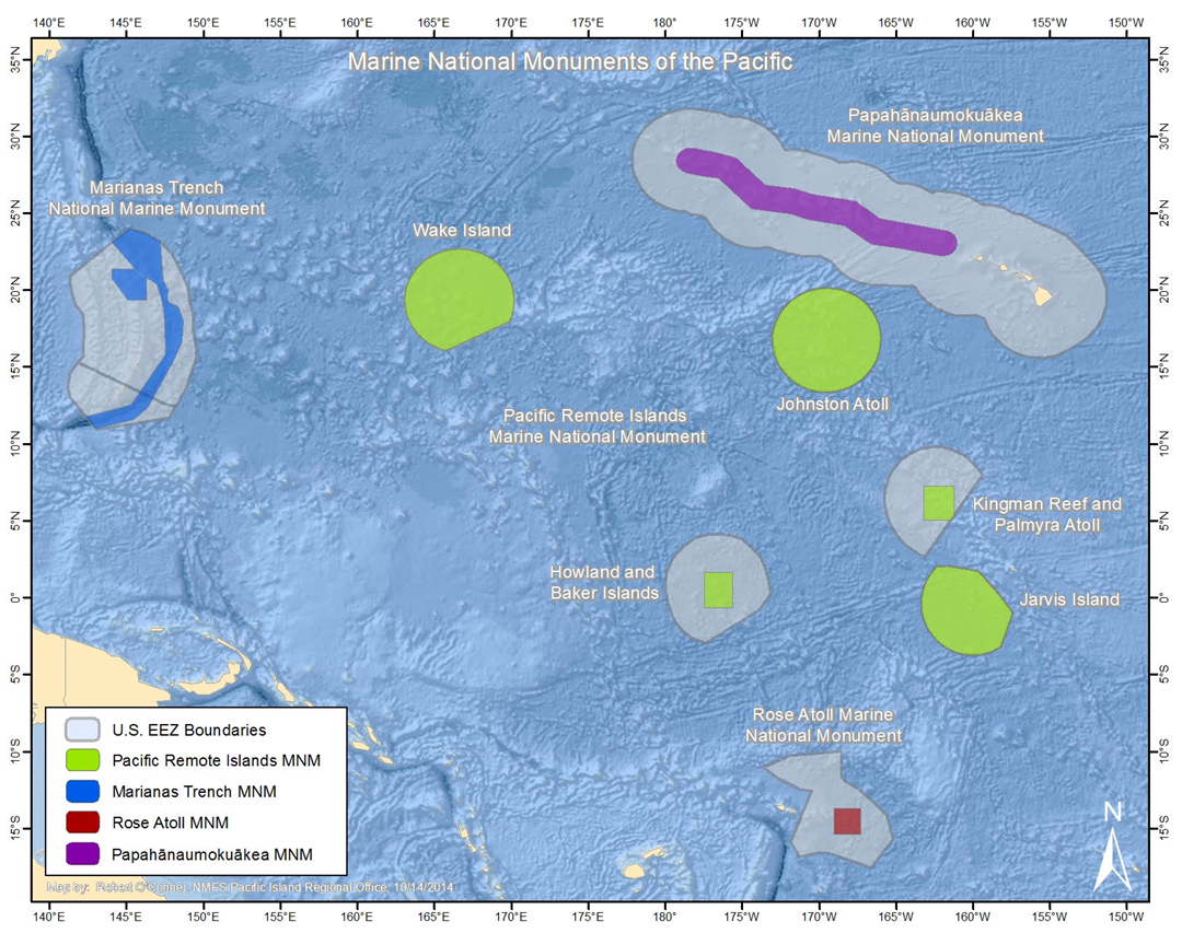Deepwater Wonders of Wake: Wake Island and Pacific Remote ... Pacific Ocean Underwater Map