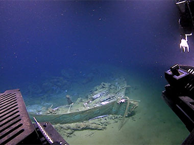 For marine archaeologists, 'treasure' comes not in the form of material goods collected from a shipwreck, but rather the knowledge that can be gained from studying the wreck.