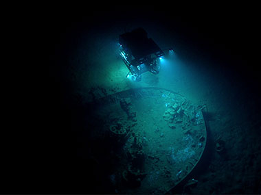 "Remotely operated vehicle Deep Discoverer images ""Wreck 15377."""