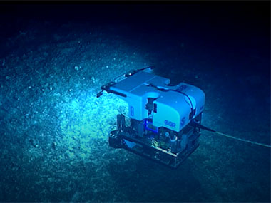 The dive on June 20 was the sixth of the Windows to the Deep 2018 expedition, but it also marked a major milestone for NOAA Ship <em>Okeanos Explorer</em>, as now over 400 remotely operated vehicle dives have been deployed from the ship.